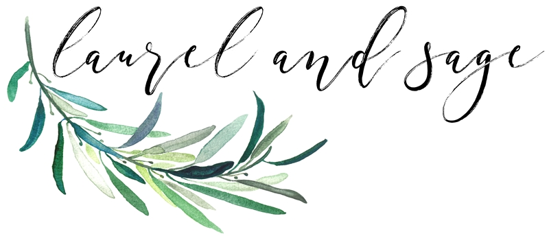 Laurel and Sage logo