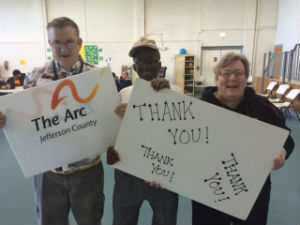thank you from arc individuals